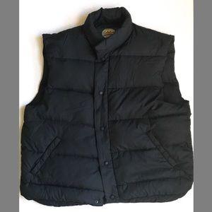 Men's Cabela's Down Vest | Navy Blue | Size XL